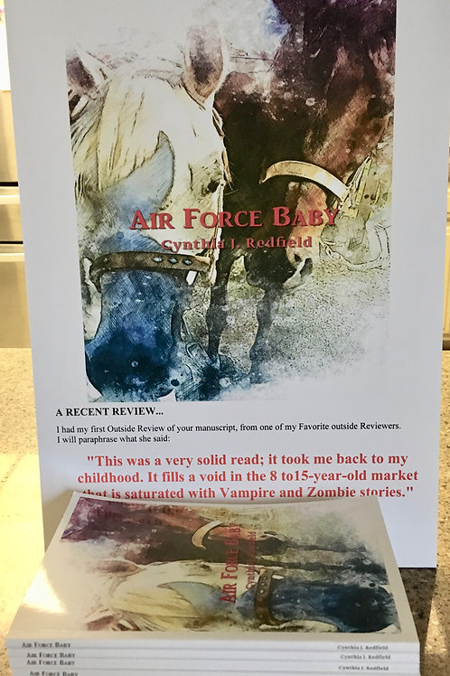 Air Force Baby-A book that will fill your heart!