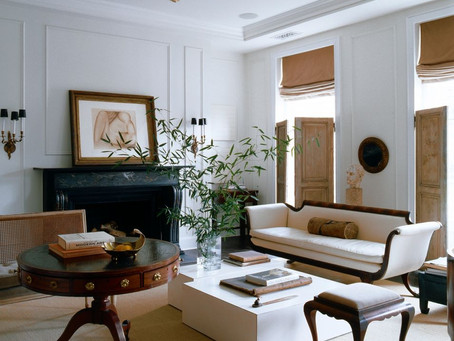 Antiques added to your modern decor adds depth and interest