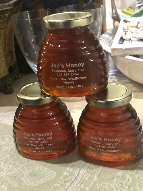 Jed's Honey—you can't get more local than made in Potomac !