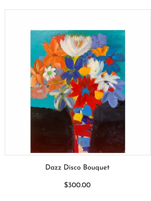 Painting - Dazz Disco Bouquet