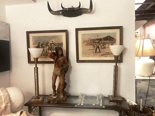 Vintage Native American sculpture