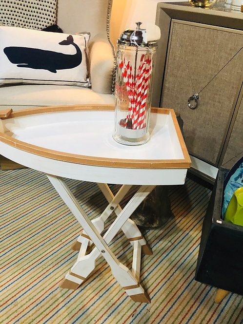 Boat accent table