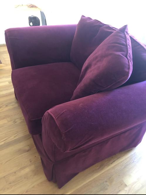 Domain Velvet Chair