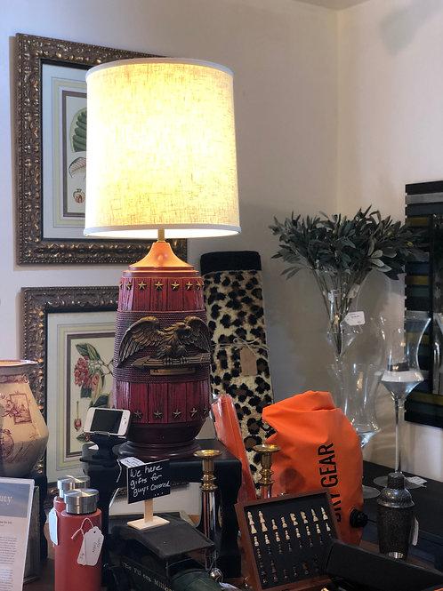Vintage Anheuser-busch lamp!