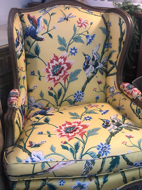 Tomlinson wingback chair