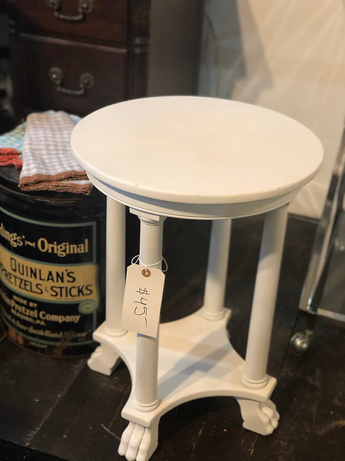 Footed cocktail table or stool