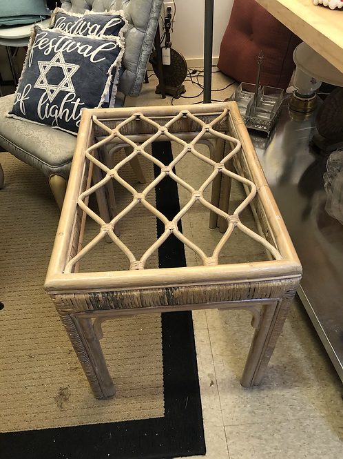 Bentwood end table