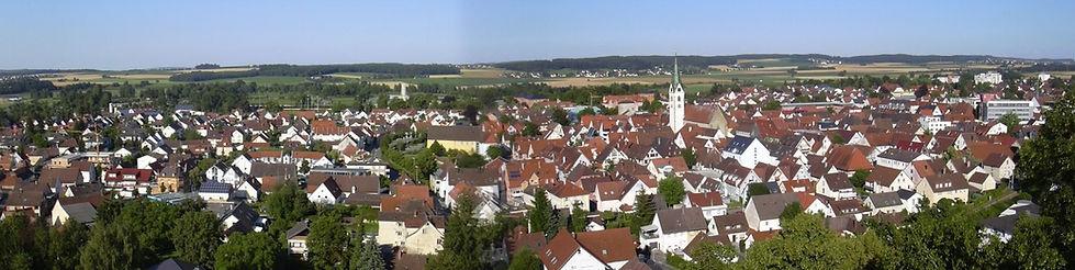 Kopie von Bad Saulgau vom Turm aus - Kop