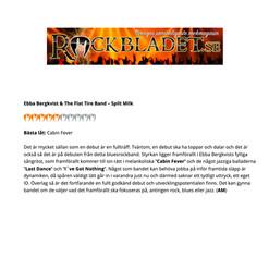 Ebba Bergkvist & The Flat Tire Band - recension i Rockbladet