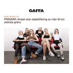 """Premiär av KNASH singel """"Meat"""" på GAFFA.se"""