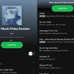 Verkligheten på New Music Friday Sweden
