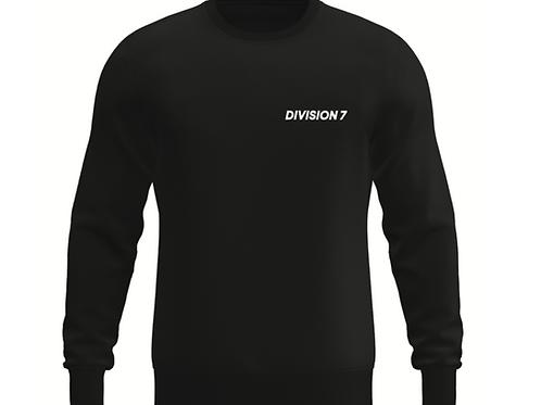 Division 7 - Sweatshirt (svart)