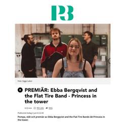 Ebba Bergkvist & The Flat Tire Band i P3