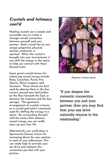 crystals and sex cont.