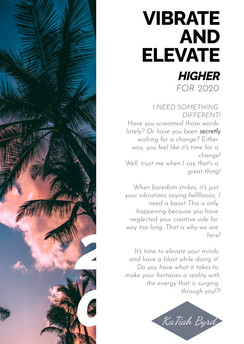 Vibrate and Elevate