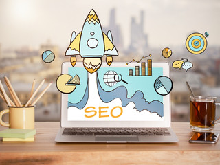 SEO. Search engine optimization rank higher in Google search!