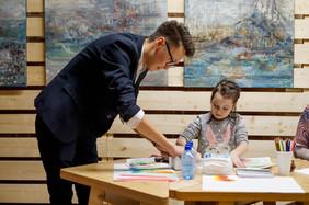 Детский мастер-класс Семена Луканси