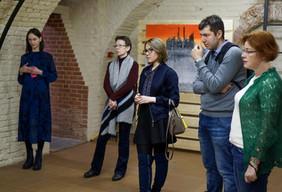 """Экскурсия по выставке """"Открывая Сибирь. Пробежки вокруг Тобольска"""""""