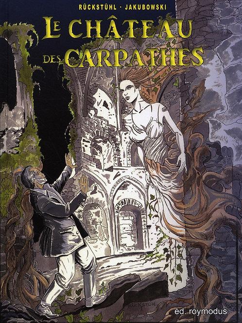"""""""Le château des Carpathes"""" Noir et Blanc"""