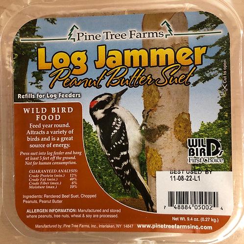Log Jammer Peanut Suet Plug