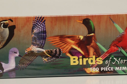Birds of North America Memory Game
