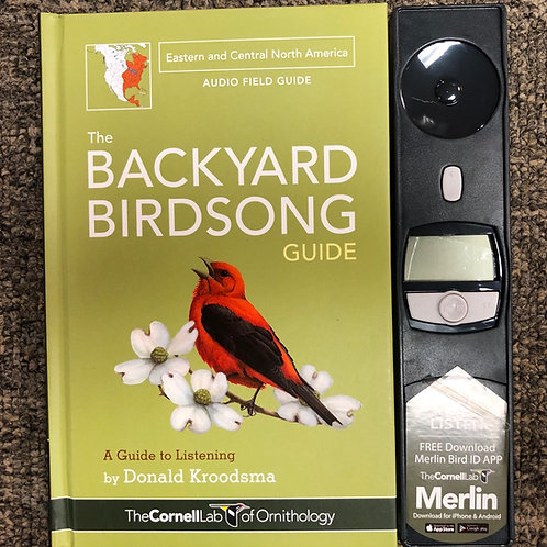 Backyard Birdsong Guide East/Central 2nd ed