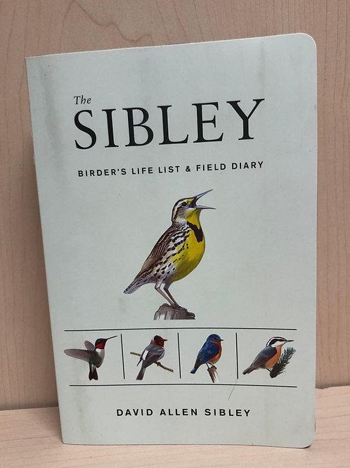 Sibley Birder's Life List& Field Diary