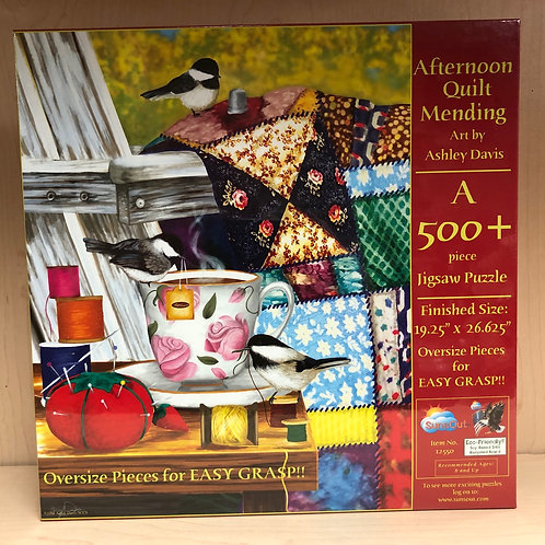 Afternoon Quilting Puzzle 500+pc