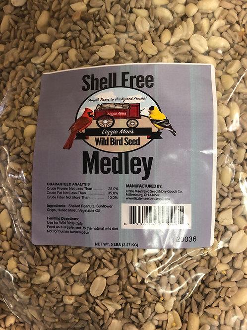 Shell-free Medley
