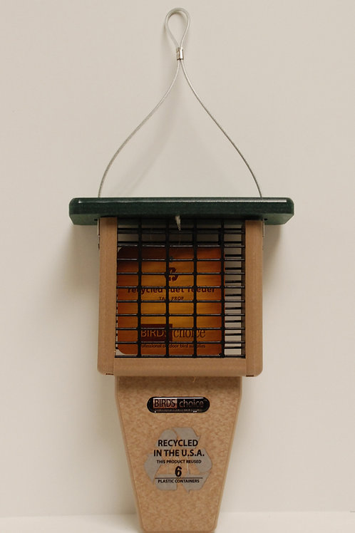 Recycled Tailprop Suet Feeder