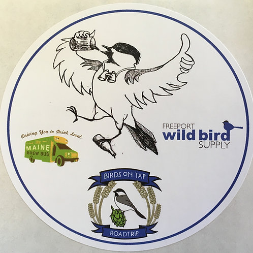Birds On Tap℠ - Roadtrip! Sticker