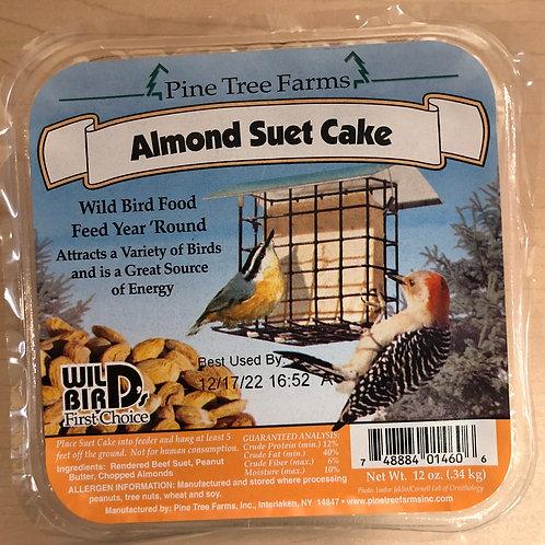 Almond Suet Cake 12oz.