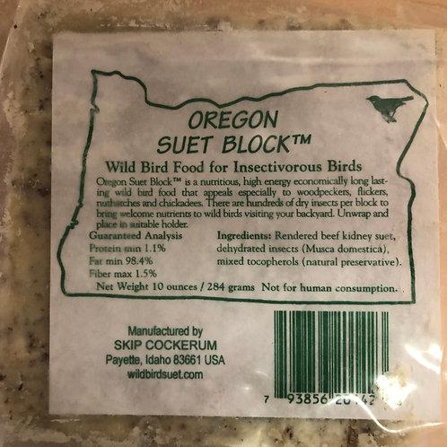 Oregon Suet Block