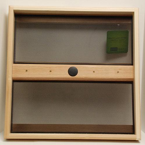 Cedar Pole-mounted Seed Catcher/Platform