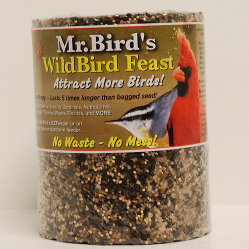 Mr. Bird Wild Bird Feast Cylinder 72oz