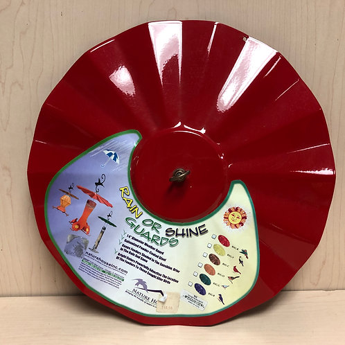 "14"" Rain/Sun Shield for Hummingbird Feeders"