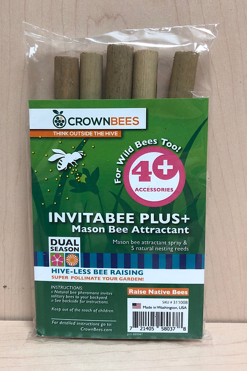 Invitabee Plus Mason Bee Attractant