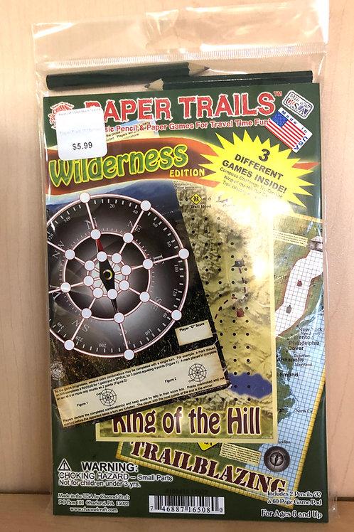 Paper Trails Wilderness Game