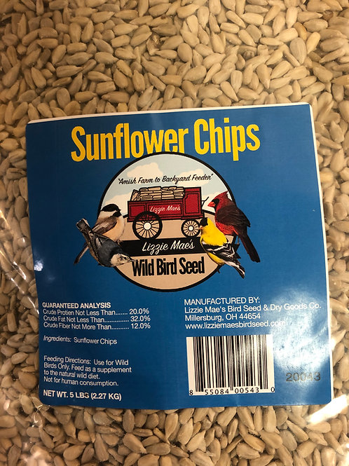 Hulled Sunflower (Sunflower Chips)