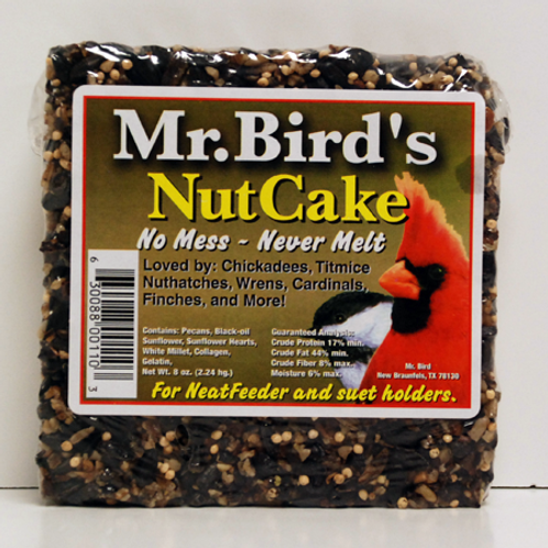 Mr. Bird Nut Cake