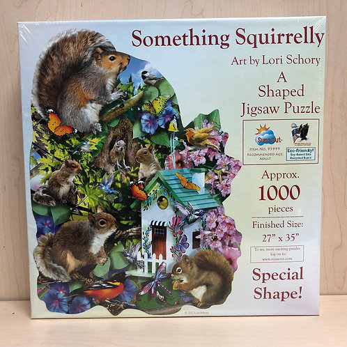 Something Squirrely 1000pc Puzzle