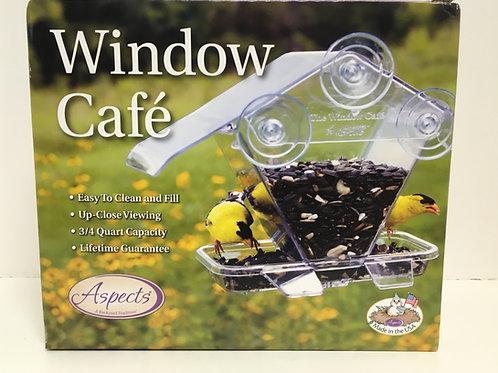 Window Cafe Window Feeder