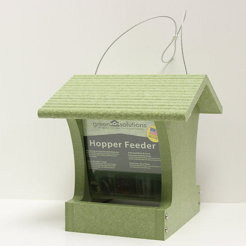 Lightweight Small Recycled Hopper Feeder