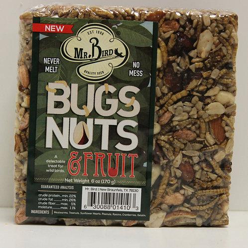 Mr. Bird Bugs, Nuts,& Fruit Cake Small