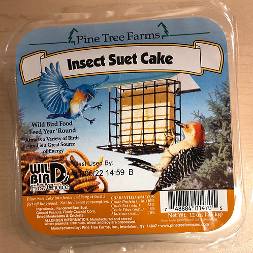 Insect Suet Cake 12oz.