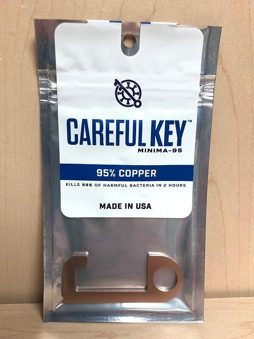 Careful Key Minima
