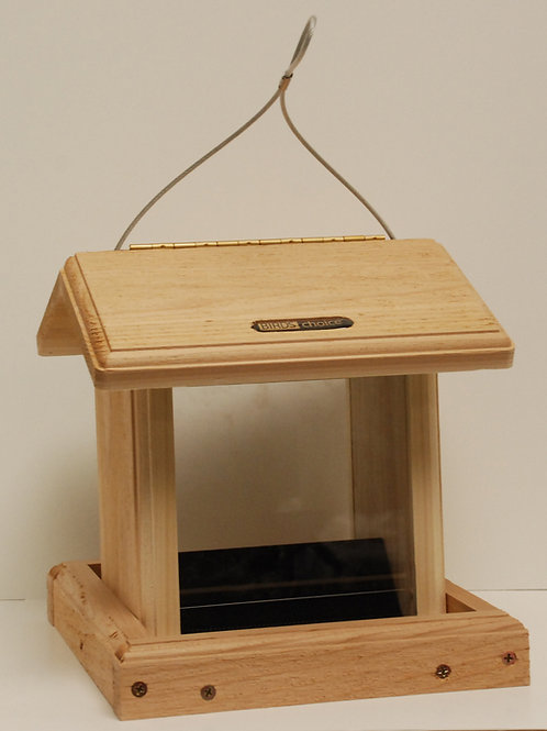 Small Cedar Hopper Feeder