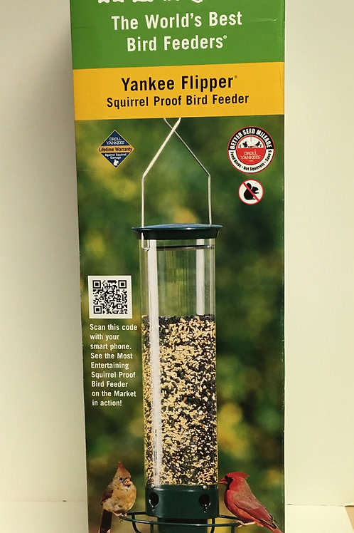 Flipper Squirrel-proof feeder