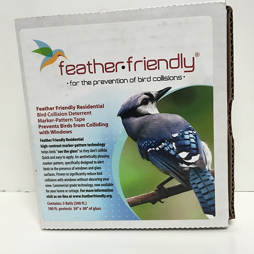 Feather Friendly Bird Tape Triple Roll