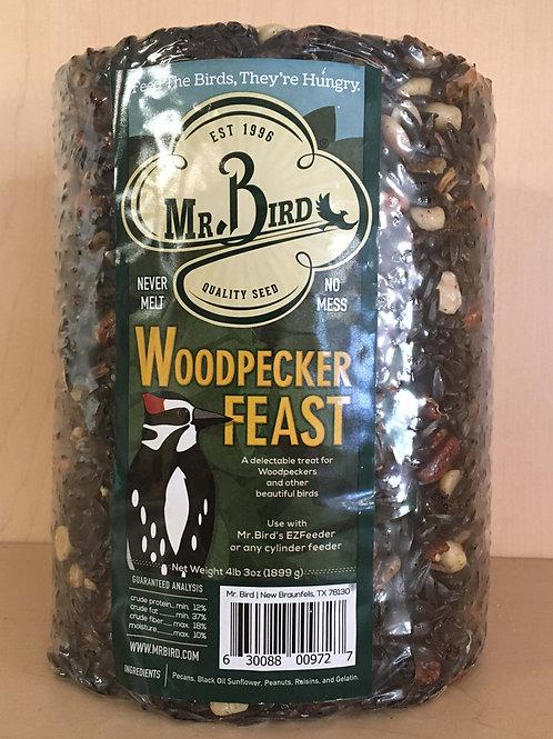 Mr. Bird Woodpecker Feast Cylinder 72oz